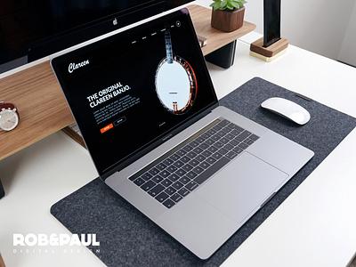 Clareen Banjo - Web Design web design ecommerce branding webdesign