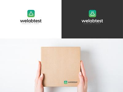 We Lab Test - Web Design / Branding logo design ecommerce web branding web design