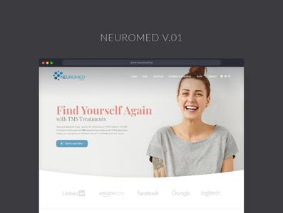 NeuroMed web design web design