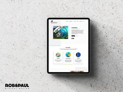 Caimileon webdesign design ecommerce web design