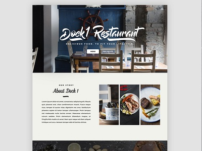 Dock 1 Website Design