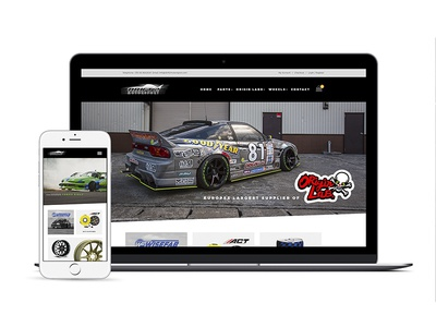 Drift 2 Motorsport - Web Design