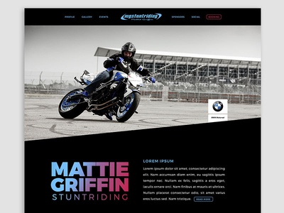 Mattie Griffin - Website Design