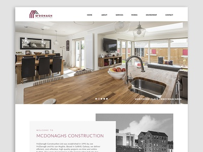 McDonagh Construction - Website