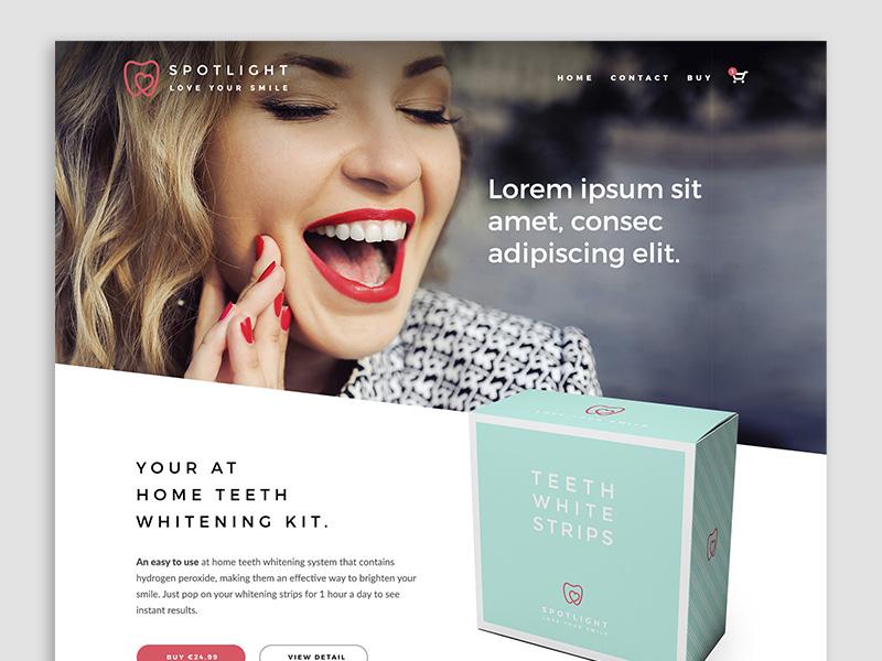 Spotlight - eCommerce Website ecommerce web design