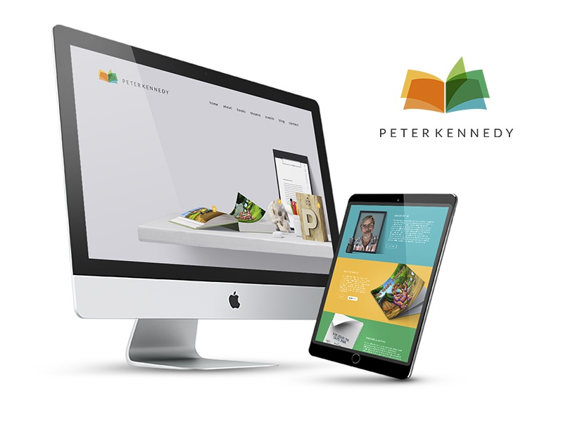 Peter Kennedy - Website Design / Branding print logo branding ecommerce website design