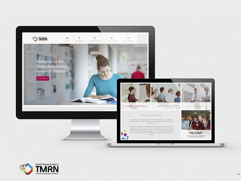 TMRN - Website Design design web
