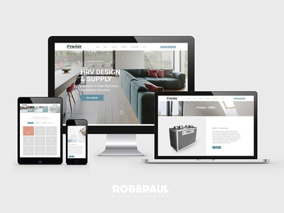 Pro Air - Web Design