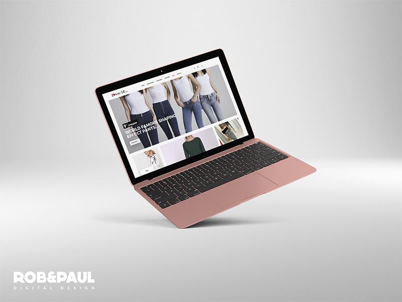 Love It Fashions - eCommerce ecommerce web design