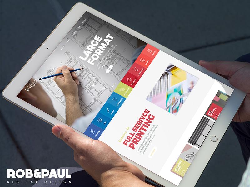 Blueprint Express - eCommerce website web design ecommerce