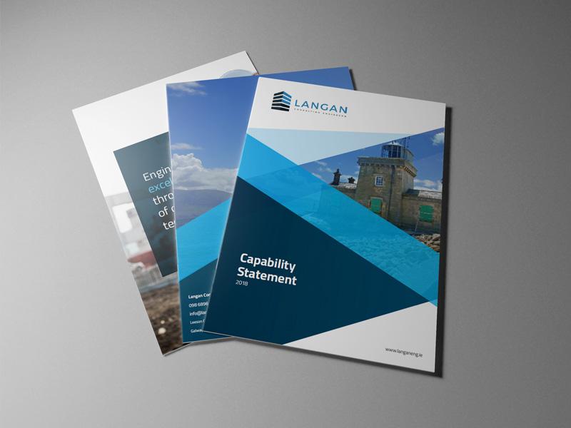 Langan - Brochure Design print design brochure