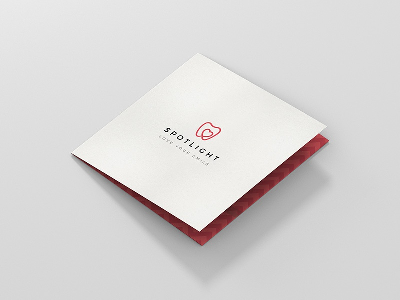 Spotlight Whitening - Brochure Design brochure design print