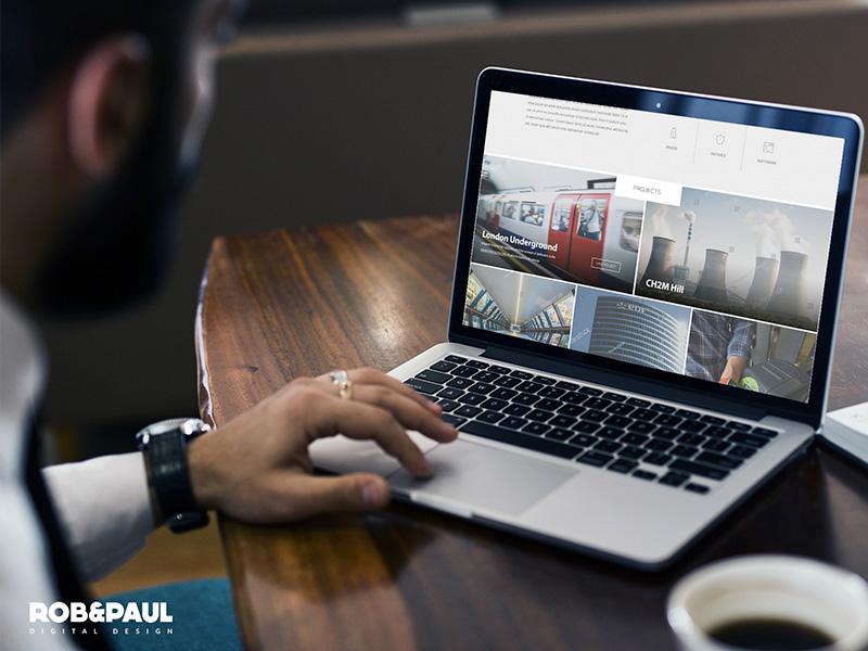 Cmr London - Website web design