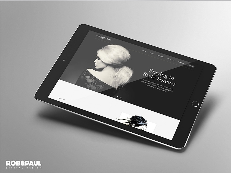 Art Team - Web design web design