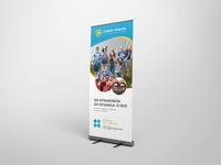 Rollup banner mock up