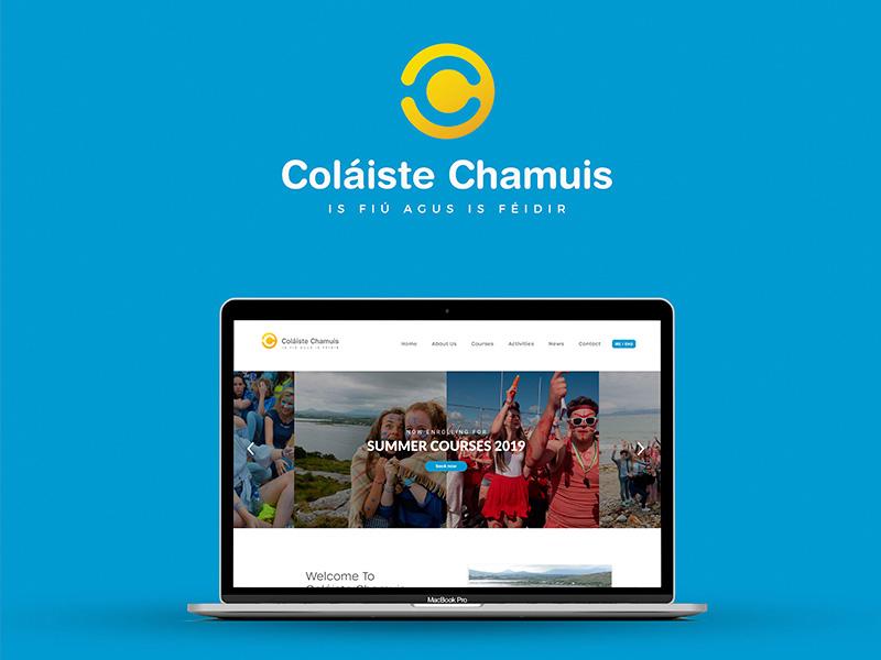 Colaiste Chamuis - Web & Branding print logo branding web design