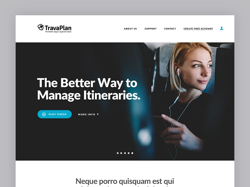Travaplan - Web Design web design