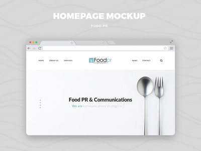 Food Pr - Website Design