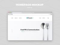 Food Pr - Website Design