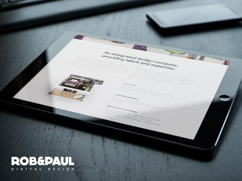 Aidan Brady - Website Design web design