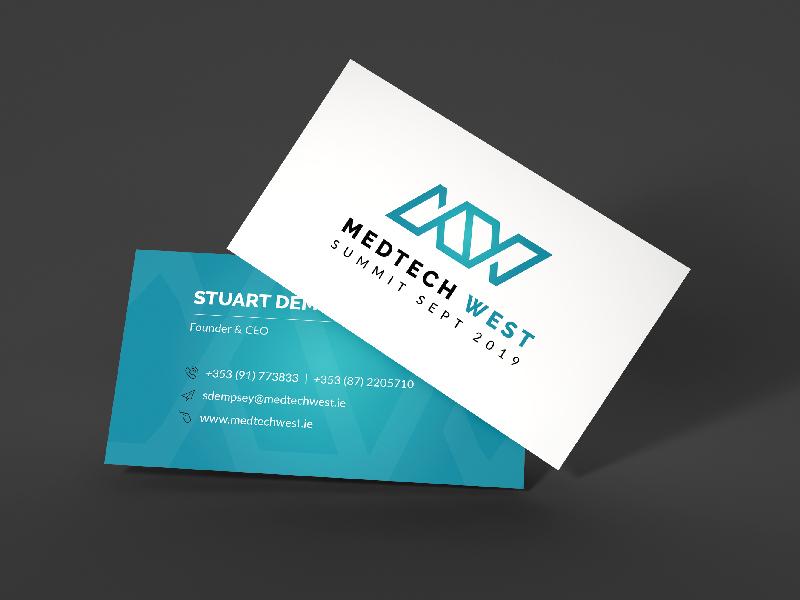 Medtech West - Branding branding logo