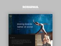 Lorg Media - Website Design
