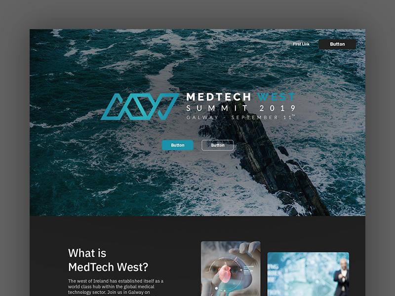 Medtech West - Web Design web design