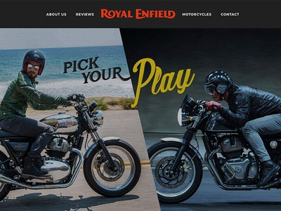 Royal Enfield Ireland - Web Design