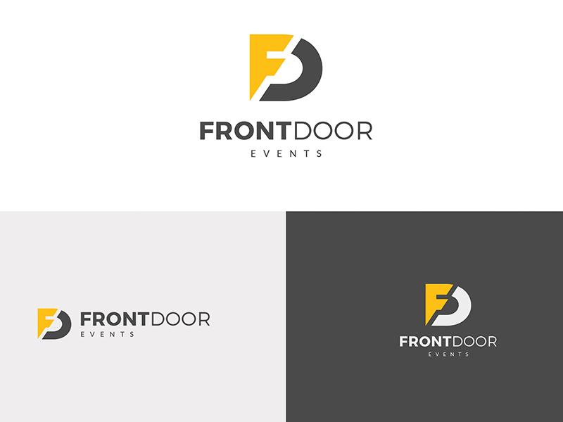 Front Door Events - Branding & Web Design web  design logo branding design