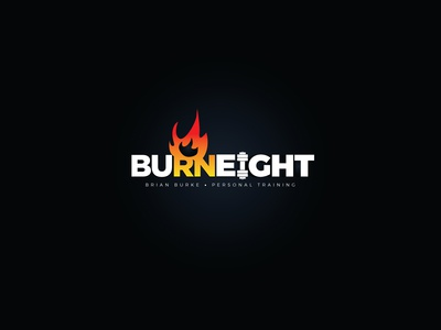Burn Eight - Fitness logo