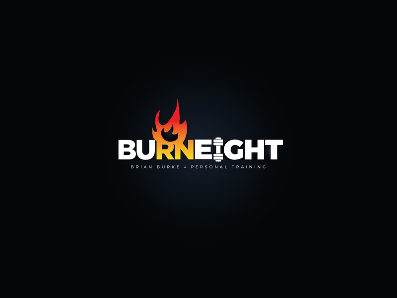 Burn Eight - Fitness logo
