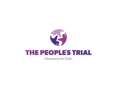 The Peoples Trial branding logo web design