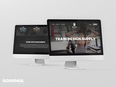 West Coast Fitness ecommerce web design