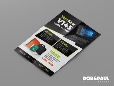 TechStar Posters print design