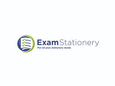 Exam Stationary design branding web design