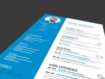 CV Template cv template design curriculum vitae profile
