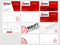 Business Card for Reality Consult