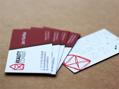 Reality Consult - final business card business card brand