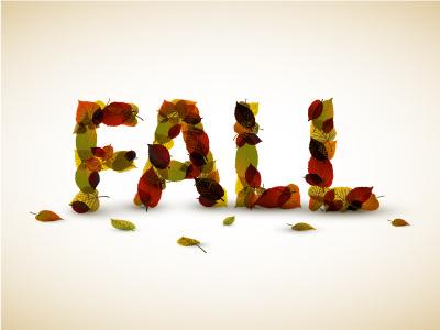 Autumn Alphabet Set alphabet vector letters fall autumn font