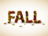 Autumn Alphabet Set