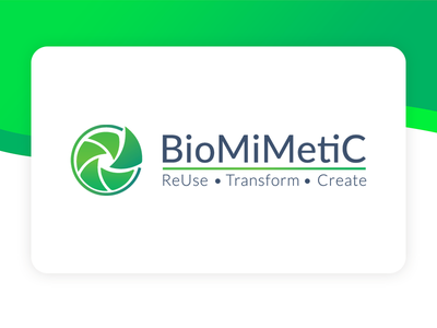 Logotype - BioMiMetiC start-up logotype logo
