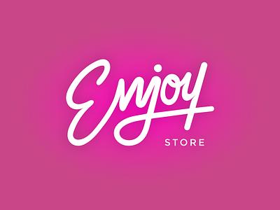 Logo - Enjoy Store vector store fashion logotype logo