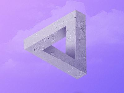 Penrose Triangle penrose creative photoshop graphic design