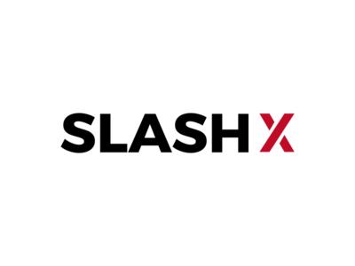 Logo - SLASHX l2 screen ui ux inspiration concept design brand logo