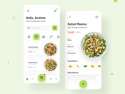 Food delivery app cooking mobile app delivery food minimalism mobile ios app ux ui design