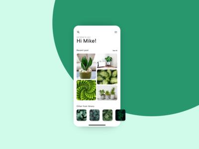 Concept app - Home