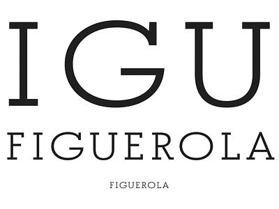 Figuerola word-mark caps font custom type typeface design type design slab serif word mark
