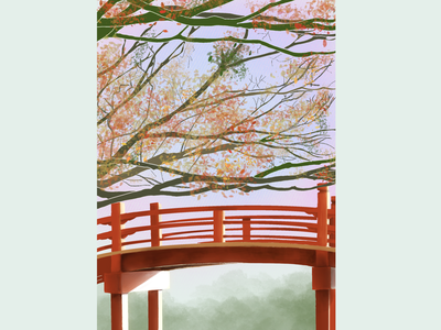 Bridge procreate 100daysofillustration illustration