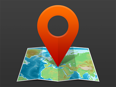 Map Icon icons design pin map maps