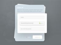 Sign Up - Register Module